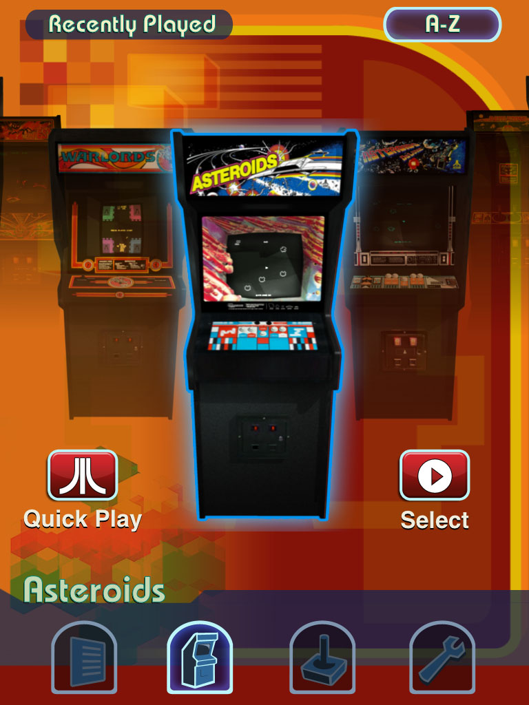 arcade games emulator for ipad