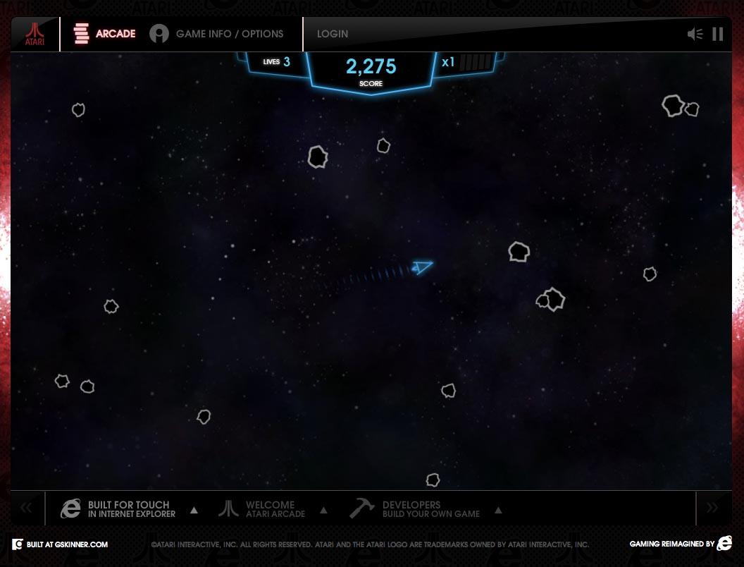 asteroids arcade online - photo #31