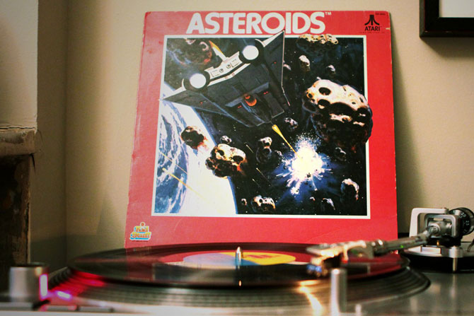 Asteroids Record